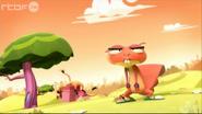 Mr. Cat on Background