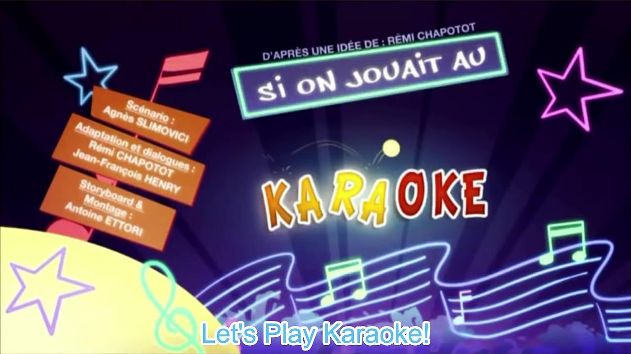 Kaeloo S2E45 Let's Play Karaoke (English Subtitles)