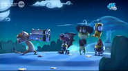 Mr. Cat Threatens To Shoot Kaeloo, Stumpy, and Quack Quack