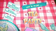 Let's Play Tea Party