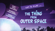 Let's Play The Thing from Outer Space