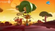Bad Kaeloo with Chainsaw