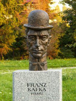 Popiersie Franz Kafka ssj 20060914