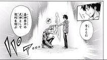 Kyosuke forms a contract with zankimaru