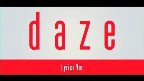 【MV】daze【Lyrics Ver.】