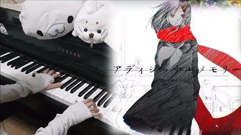 アディショナルメモリー(Additional Memory) by JIN じん (自然の敵P) Kagerou Project Piano ピアノver. Rui Ruii