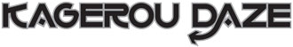 Kagerou Daze english logo manga