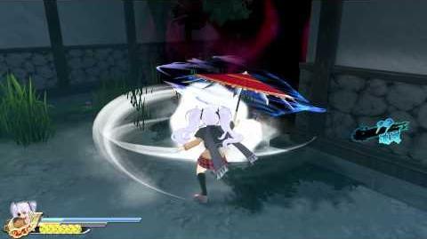 PS4 60FPS『閃乱カグラ ESTIVAL VERSUS -少女達の選択-』Yagyu gameplay(All Ninpos)