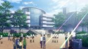 Hanzo Academy school grounds