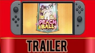 Peach Ball - Nintendo Switch (Japanese Trailer)-3
