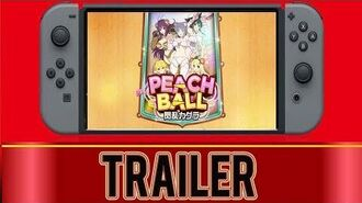 Peach Ball - Nintendo Switch (Japanese Trailer)-1