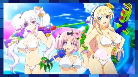 Senran Kagura Peach Beach Splash - 2nd Official Gameplay Trailer (PS4)