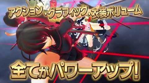 PS4『閃乱カグラ Burst Re Newal』PV映像