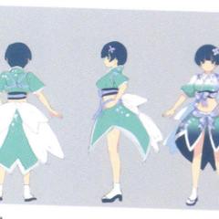 Yozakura Concept Art (Shinobi Outfit)
