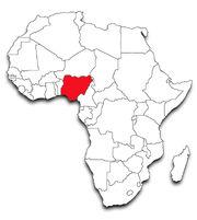 Nigeria-outline