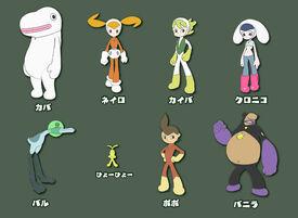 Kaiba character sheet
