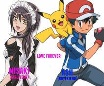 Mi amante misaki y yo