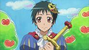Yukimura as a prince