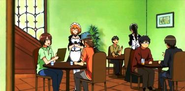 Maid Latte saloon