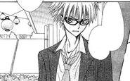 Kuuga's appearance in the manga
