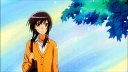 Misaki in the wind