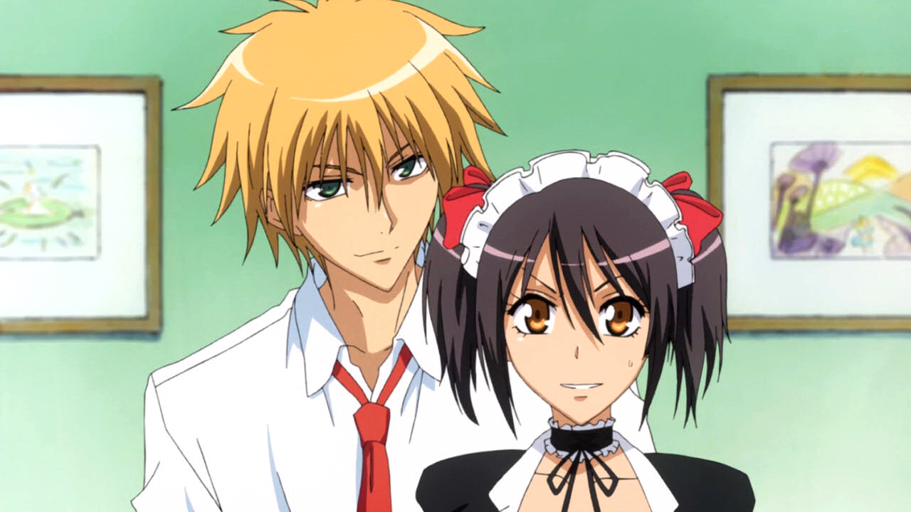 anime like maid sama