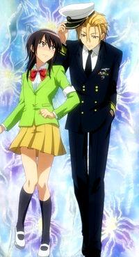 Misaki ayuzawa and takumi usui