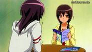 Suzuna reads magazines