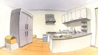 Maid Latte kitchen