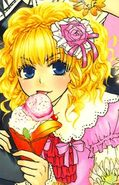 Aoi colored manga girl version