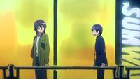 Aoi berating Misaki