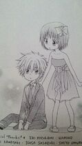 Little Misaki and Takumi