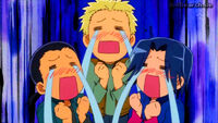 Trio in tears