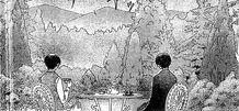 Edward and gerald having tea together