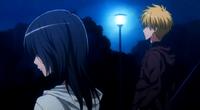 Misaki tells Takumi about work