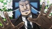 Tonegawa conducts funeral
