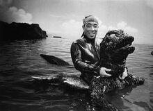 Hauro Nakajima's Godzilla Suit