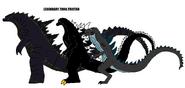 Godzillas by sci fiman2xxx-d8mkhbs