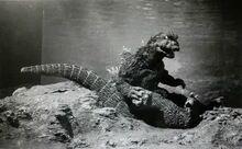 Godzilla Sits Down