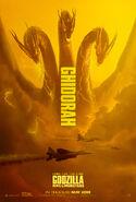 Godzilla Kotm Ghidorah poster