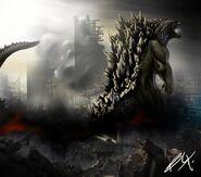 Godzilla 2014 by birmelini-d6rj94n