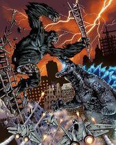 Godzilla vs Kong art 2021