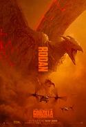 Godzilla Kotm Rodan poster