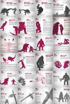 Godzilla vs Kong 2021 infographic