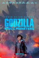 Godzilla Millie bobby brown poster