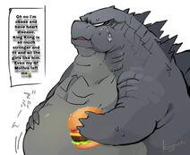 Godzilla is fat
