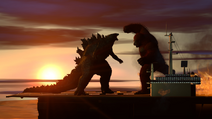 Godzilla vs Kong 2021 sfm