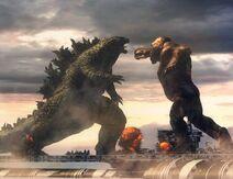 Godzilla vs kong blender