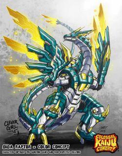 Giga Raptor color concept