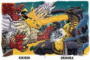 Kikiron vs urogora puzzlecard by fbwash-d787uta